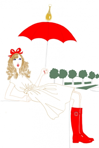 Link to The Little Dior Diary: J'adore la pluie.