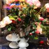 Link to Paris: Peonies with China light