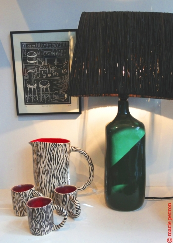 Link to Three bears's mugs and the green lamp