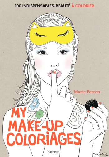 Link to I'm happy to tell you that my Make-Up Coloriages will be out June 3rd