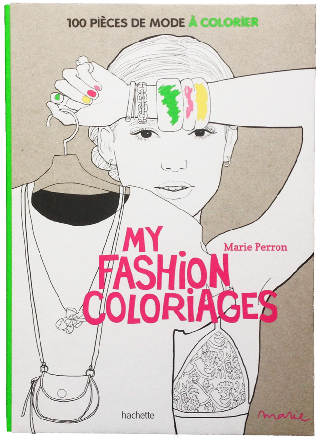 my fashion coloriage photo livre copie
