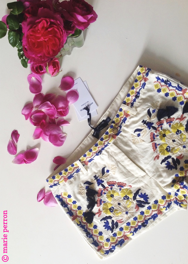 short antik batik pour monoprix